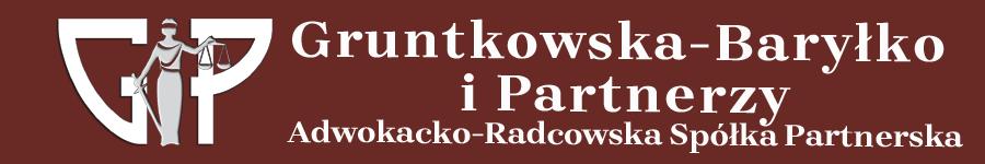 Gruntkowska-Baryłko i Partnerzy Adwokacko-Radcowska Spółka Partnerska